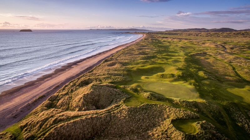 Ballyliffin Golf Club 14th The Old Links