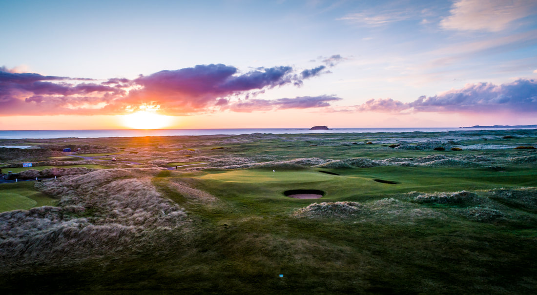 Ballyliffin Golf Club Glashedy Links 9th